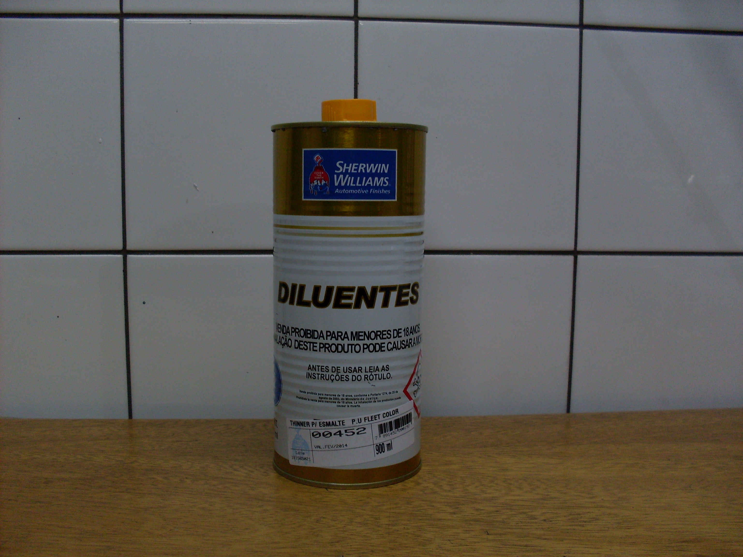 THINNER POLIURETANO 0,900ML